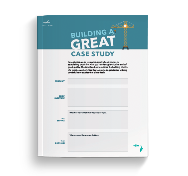 Build a great case study